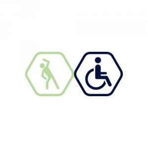 Grupas nodarbība Vingruma zālē. 1x apmeklējums | cilvēkiem ar invaliditāti