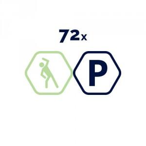72 grupas nodarbības Vingruma zālē mēnešiem + bezmaksas auto stāvvieta.