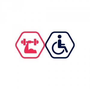 1x Spēka zāles apmeklējums | cilvēkiem ar invaliditāti