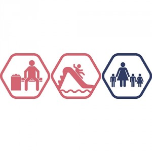 Atpūtas zona + Rotaļupe: 1 pieaugušais + 3 bērni | DD