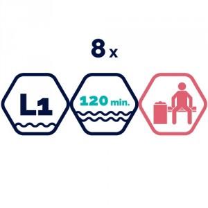 8x peldbaseinu apmeklējums | 120 min.