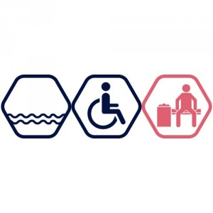 Lielā peldbaseina apmeklējums cilvēkiem ar invaliditāti