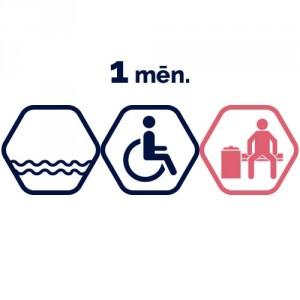 Lielā peldbaseina abonements 1 mēnesim | cilvēkiem ar invaliditāti