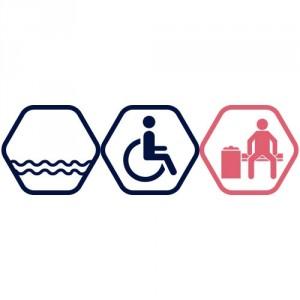 Peldbaseinu apmeklējums cilvēkiem ar invaliditāti | VASARA