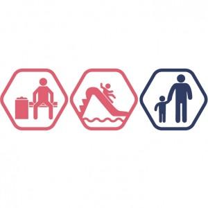 Atpūtas zona + Rotaļupe: 1 pieaugušais + 1 bērns | DD