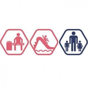 Atpūtas zona + Rotaļupe: 1 pieaugušais + 2 bērni | DD