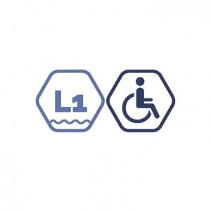 Ekonomiskais peldējums Lielajā peldbaseinā cilvēkiem ar invaliditāti