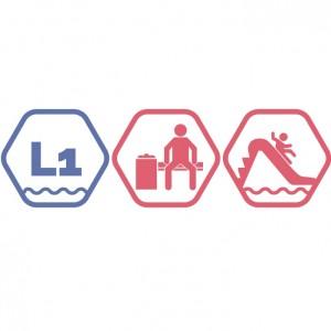 Lielais + Mazie peldbaseini + Atpūtas zona + Rotaļupe | VASARA