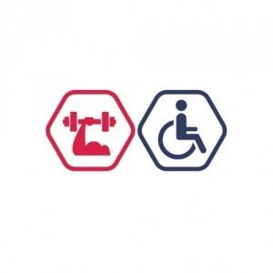Vienreizējs Spēka zāles apmeklējums cilvēkiem ar invaliditāti. Ierobežotā laikā