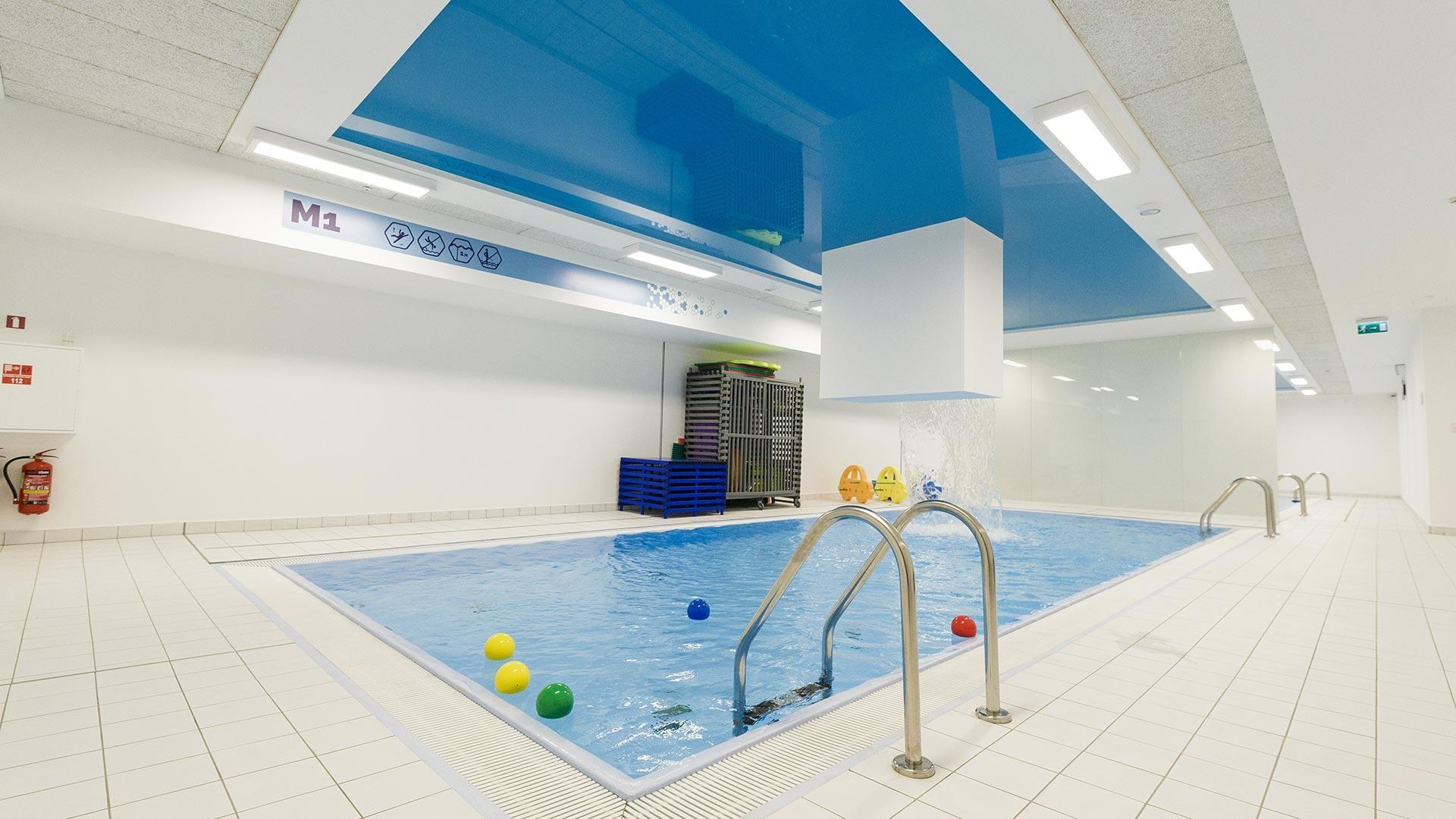 Rimi olimpiskais sporta centrs mazais peldbaseins